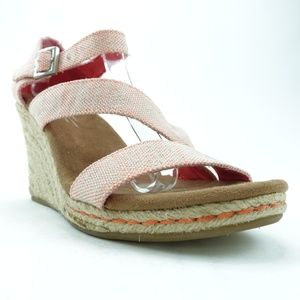 Toms Women Wedge Sandals Heels R13S5